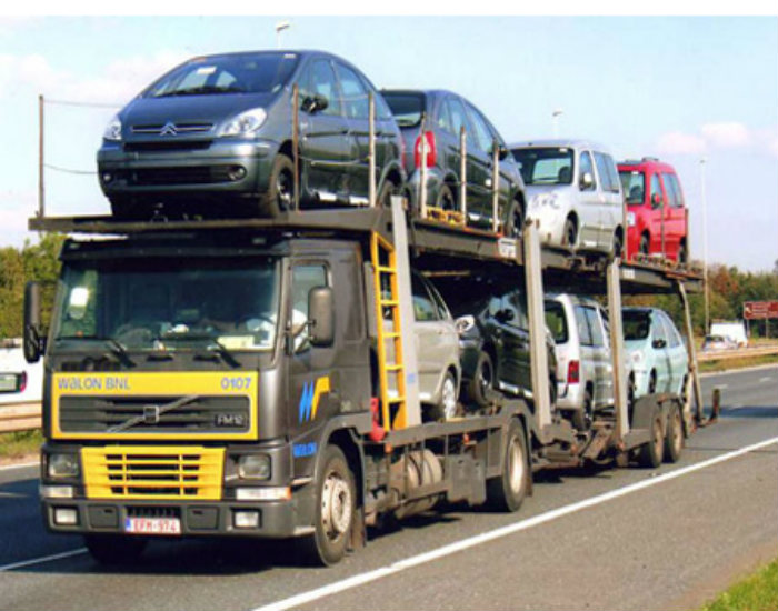 Cars in Transit to Uganda