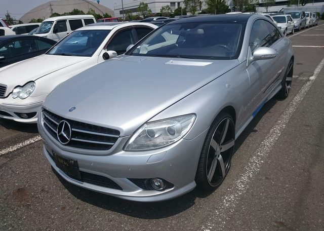 Sold And Exported 2007 Mercedes Benz Cl550affordable Used