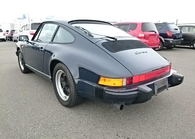 Sold And Exported 1987 Porsche 911 3 2 Carrera Japan Car