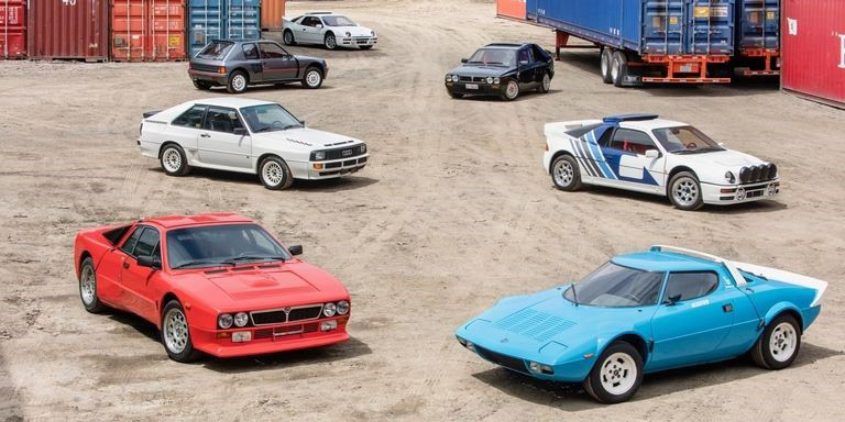 Amazing rally car collection