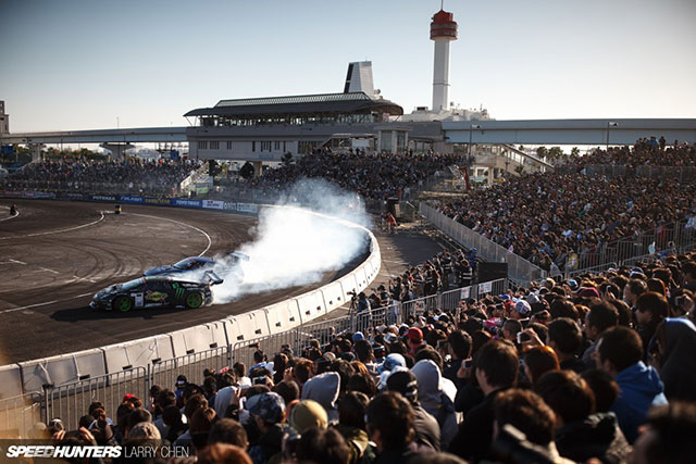 The first FIA Intercontinental Drifting Cup - Tokyo Drift in Odaiba