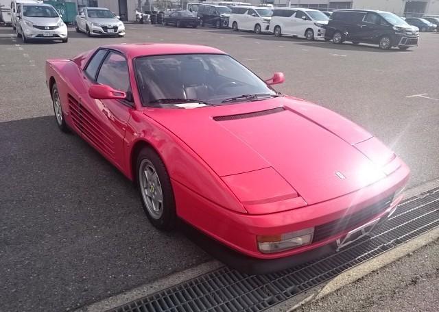 A 1991 Ferrari Testarossa exported by Japan Car Direct