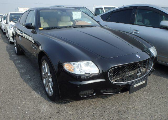 Maserati Quattroporte Executive GT 4.2-litre V8 DOHC engine luxury JDM cars