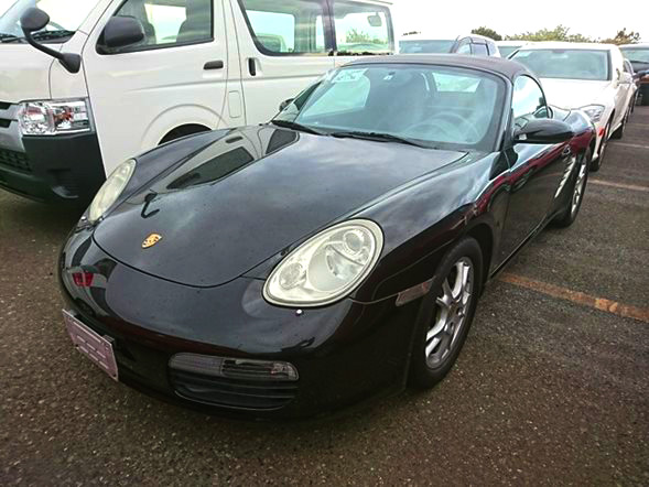 Jdm Porsche boxter import export Europe dealer auction