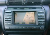 Toyota Crown Athlete navigation system