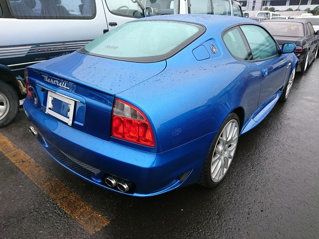 JDM luxury Italian car Maserati Spyder Zagato LHD Japan dealer auctions