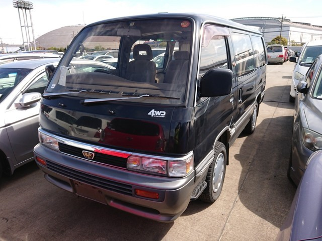 Nissan Homy JDM van import from japan to America JDM quality love