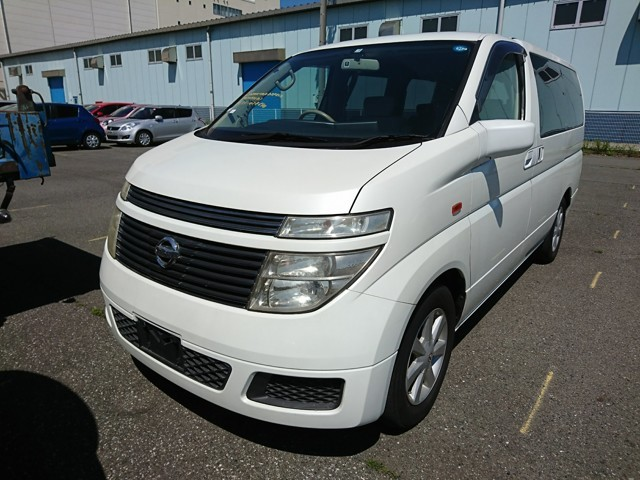 Nissan Elgrand van import from japan people mover jdm dealer auction