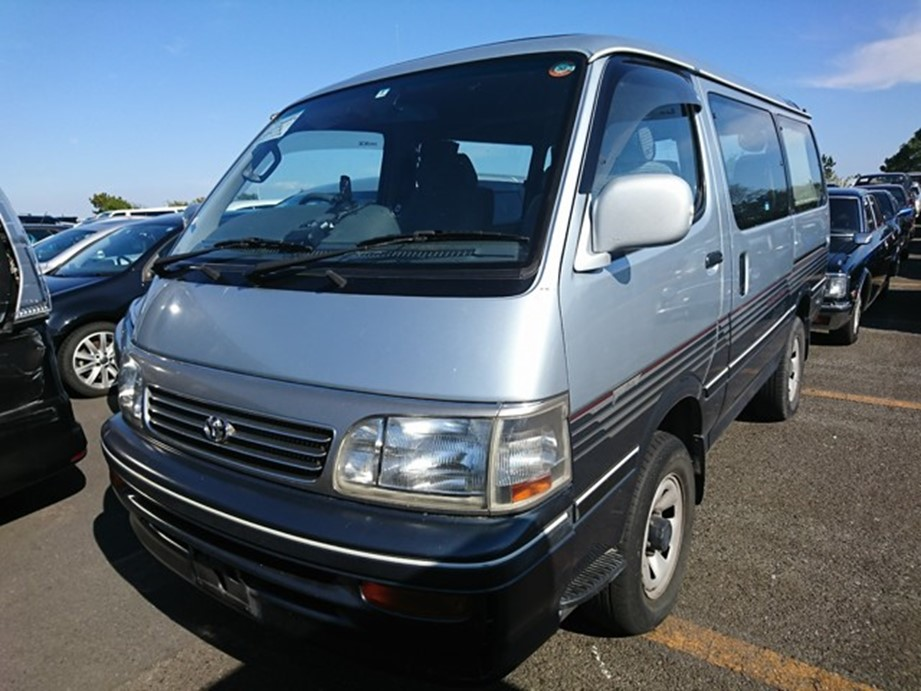 Toyota Hiace Van 25 year rule import usa America from japan jdm export dealer auction