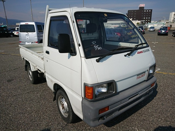 Mini kei truck 4wd AC 5 speed box with gates