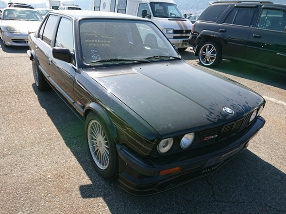 BMW E30 import European JDM original luxury cars from Japan excellent condition low mileage
