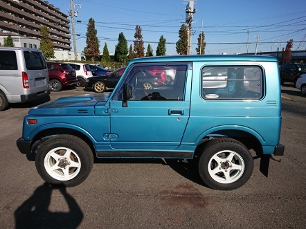 JA11V 660cc turbo engine 4wd rear diff lock climb off road low price excellent condition Suzuki Jimny