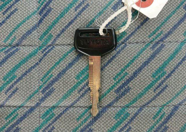 Camper spare key