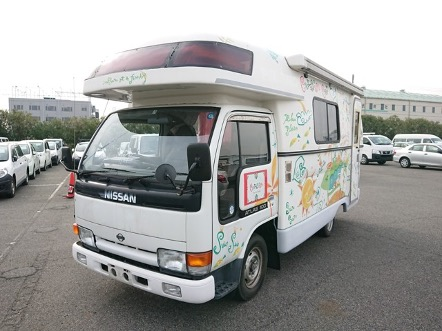 Get campers from japan JDM fully equiped