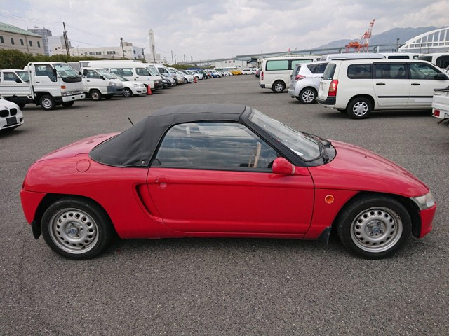 Kei turbo sports car 660cc engine blast around town
