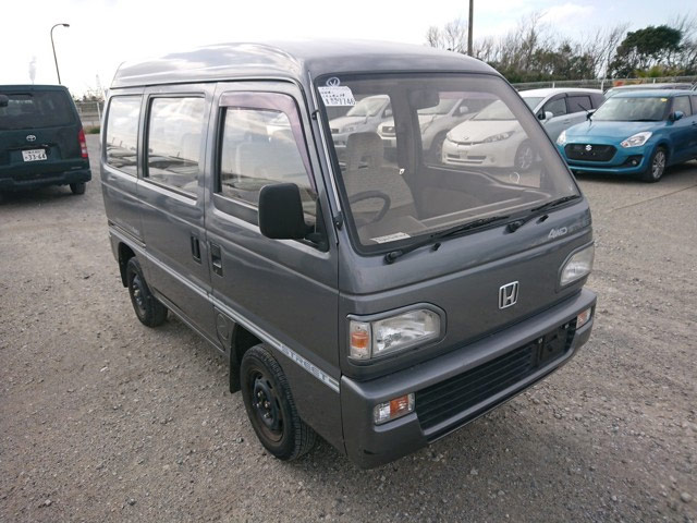 Mini Van kei vehicle great gas mileage sleeps two JDM wonderful vehicle