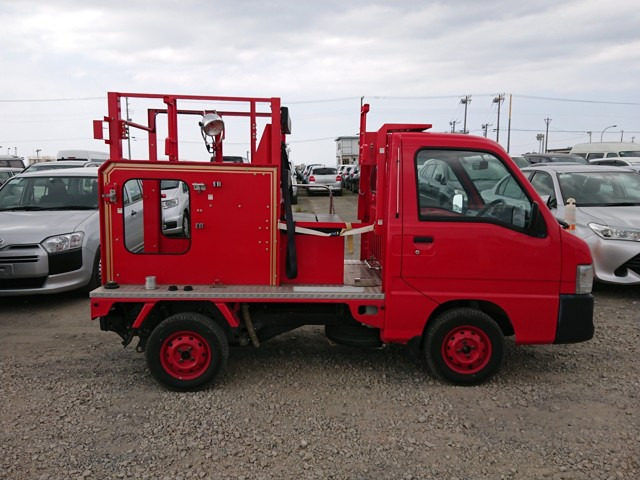 4wd 5 speed kei fire truck best condition lowest mileage fully functional