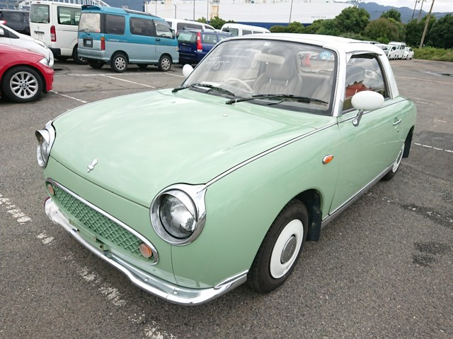 Retro 1000cc turbo engine classic Japanese limited edition quirky car