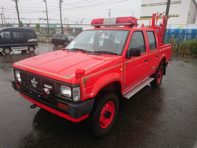 Datsun firetruck import from japan low cost excellent quality easy to do