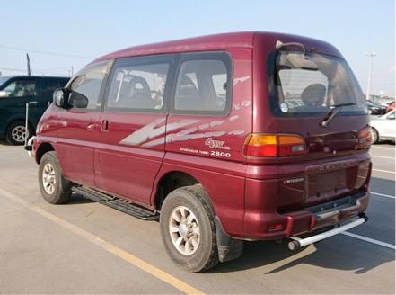 2.8 litre turbo diesel off road camping skiing boarding machine JDM van import export