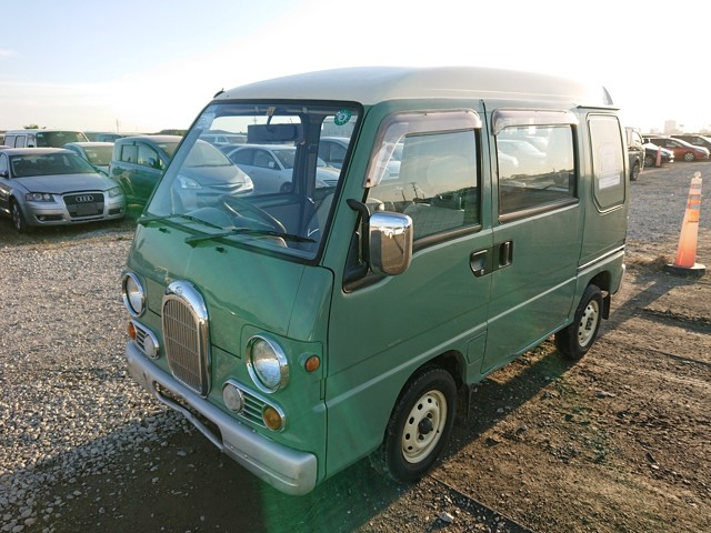 JDM 660cc Kei van 4wd 5MT AC Low cost 25 years American import rule Get direct from auctions