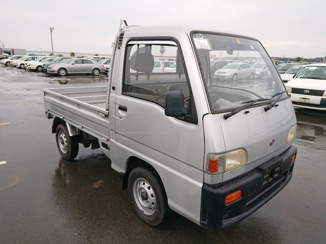 660cc rear mounted engine fully functional cab mini truck import from japan